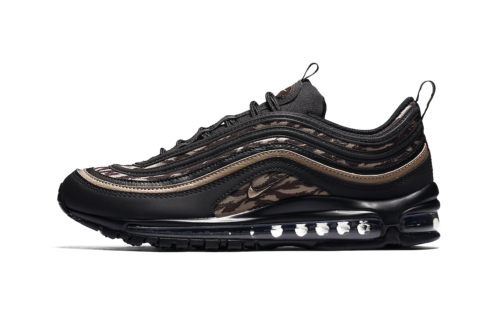 9c88bab44533 The Air Max 97 continues to prove its worth as one of Nike s most coveted  silhouettes — dropping in a barrage of bold colorway options just in the  past few ...