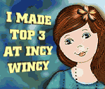 Top 3 plek bij Incy wincy Designs
