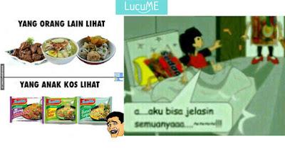 10 Meme 'Mie Instant' yang Bikin Ngakak Campur Laper