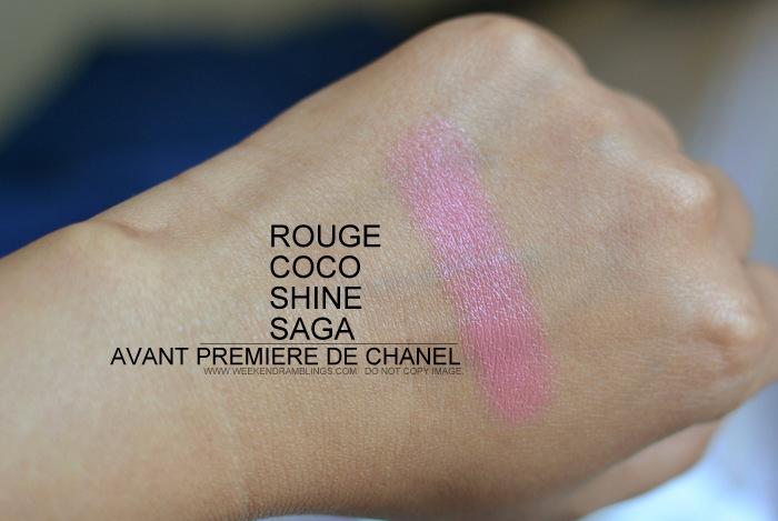 Weekend Ramblings Chanel Rouge Coco Shine Lipstick Saga