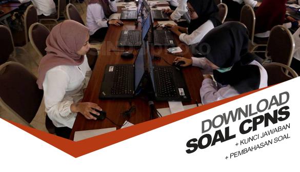 Unduh Soal Tes Cpns 2018 Terbaru Pdf Dan Kunci Jawaban Serta Pembahasannya
