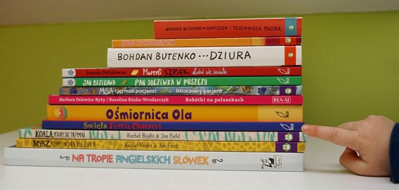 nowe książki dla dzieci, wydawnictwo Rea, Wilga, Zielona Sowa.