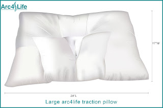 Large size traction pillow