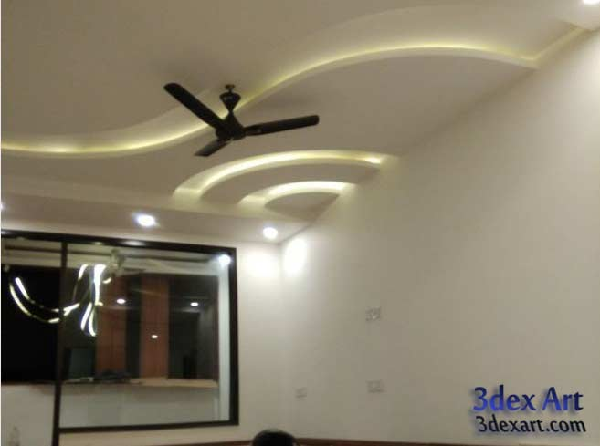 Latest false ceiling designs for living room and hall 2018 for Best fall ceiling designs