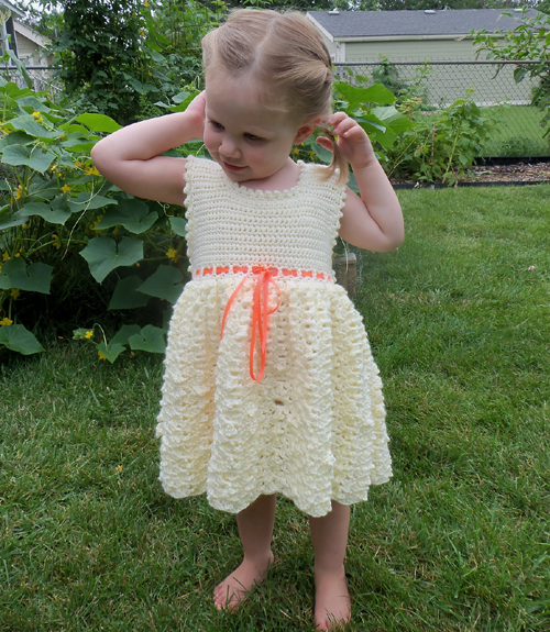 Vanilla Baby Dress - Free Pattern