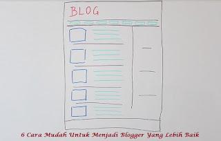 6 Cara Mudah Untuk Menjadi Blogger Yang Lebih Baik