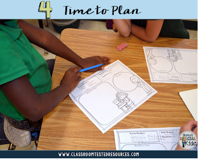 Preplanning for student created math games
