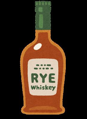 ライのイラスト(ウイスキー)