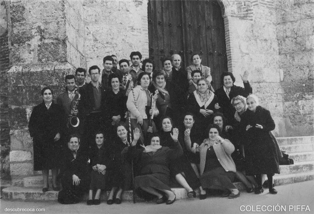 88eb1c8e6 Santa Águeda en Coca, a principios de los años 60