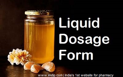 liquid dosage form, dosage form, pharmaceutics,