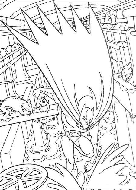 free batman coloring pages for kids | New Batman Coloring Pages Free for Kids >> Disney Coloring ...