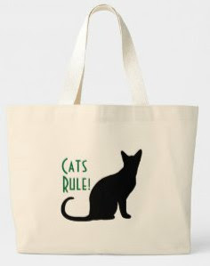Jumbo Cats Rule Tote