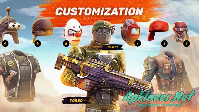 Guns of Boom Online Shooter MOD APK