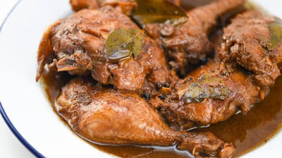 CHICKEN ADOBO and LUMPIA SARIWA Recipe