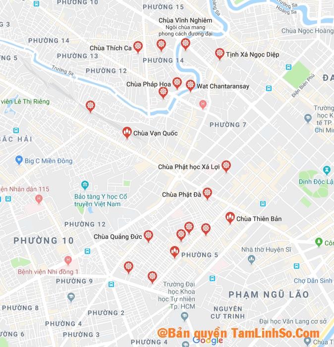Bạn đang tìm các ngôi chùa ở Quận 3 Sài Gòn từ xưa đến nay?