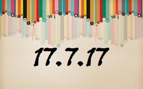 17.07.2017 Cantik tarikh?