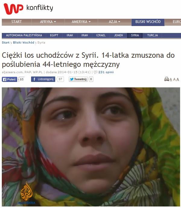http://konflikty.wp.pl/kat,127354,title,Ciezki-los-uchodzcow-z-Syrii-14-latka-zmuszona-do-poslubienia-44-letniego-mezczyzny,wid,16330707,wiadomosc.html