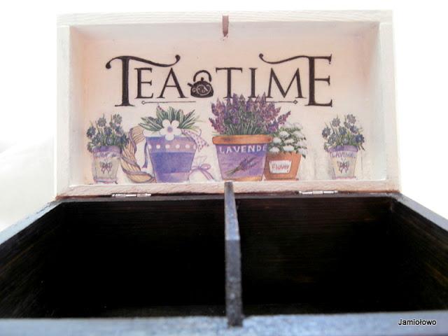 dwukomorowa herbatnica w stylu prowansalskim