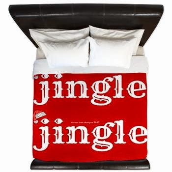 Santa Jingle King Duvet