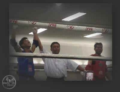 Topan Novian Atlit MuayThai asal Subang Raih Emas setelah kalahkan Juara Dunia di PON XIX Jabar