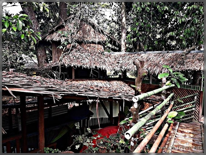Destinasi Pelancongan SABAH :  Ponohuan Tree House | MyNurul Homestay , Kg. Kambizaan Papar Sabah