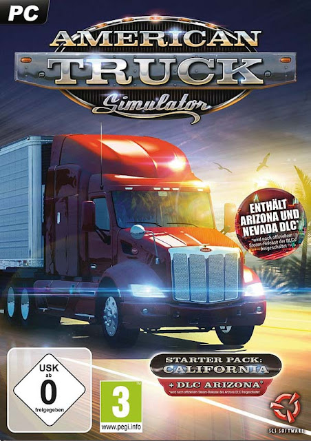 American Truck Simulator Download Cover Free Game