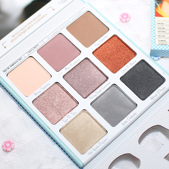 Review, swatches - and EOTDs - of TheBalm Appetit Eyeshadow Palette, a mauve-neutral makeup palette.