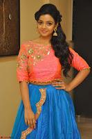 Nithya Shetty in Orange Choli at Kalamandir Foundation 7th anniversary Celebrations ~  Actress Galleries 047.JPG