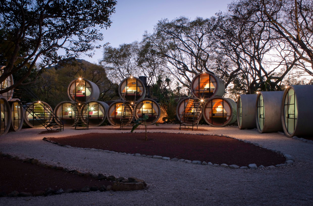 24. Tubhotel, Mexico - 26 Of The Coolest Hotels In The Whole Wide World