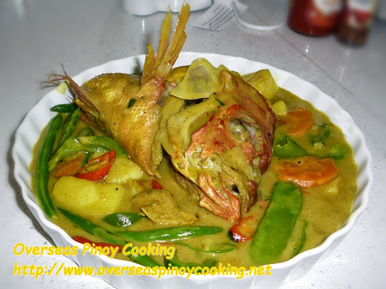 Fish Head Curry Pinoy Style
