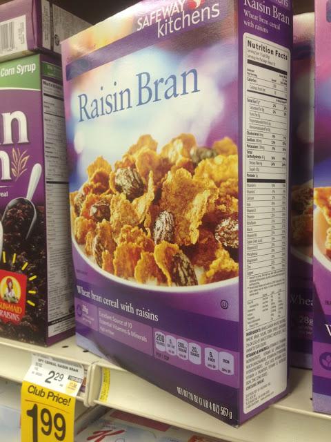 Raisin Bran, Safeway Kitchens - Safeway