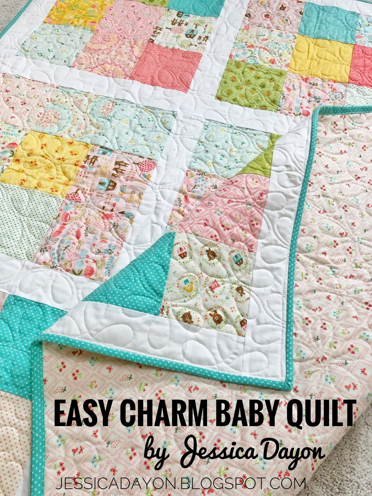 Free Pattern Easy Charm Baby Quilt