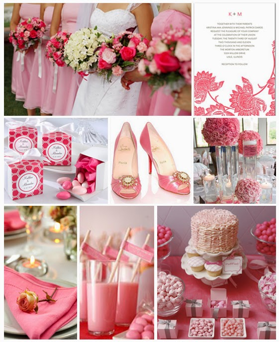 Pink Wedding Theme Will Be a Smashing Success