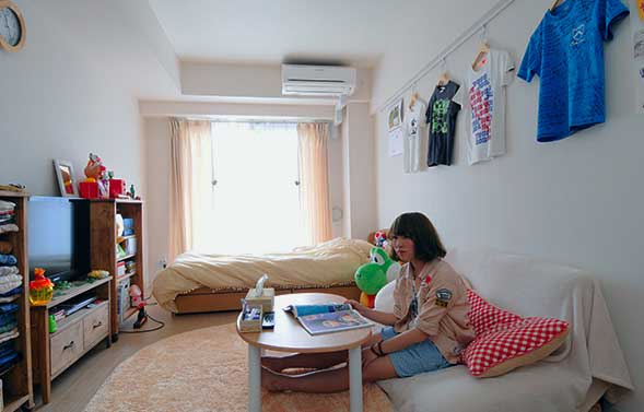 Cute Dorm Room Ideas College Girl Room With Unique And Simple