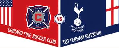 Chicago Fire 0 Tottenham 2