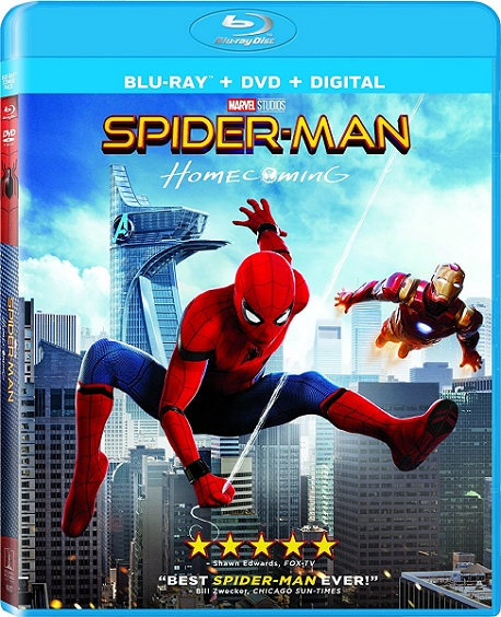 Spider-Man: Homecoming (Spider-Man: De Regreso a Casa) (2017) 1080p BluRay REMUX 26GB mkv Dual Audio DTS-HD 5.1 ch