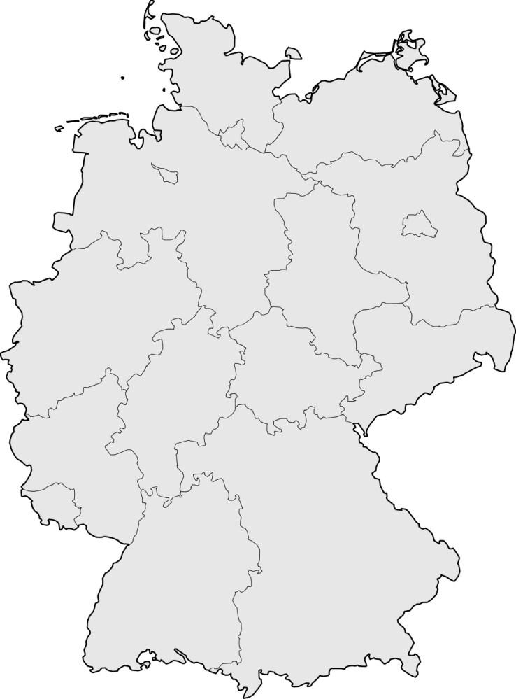 leere deutschlandkarte zum ausfüllen