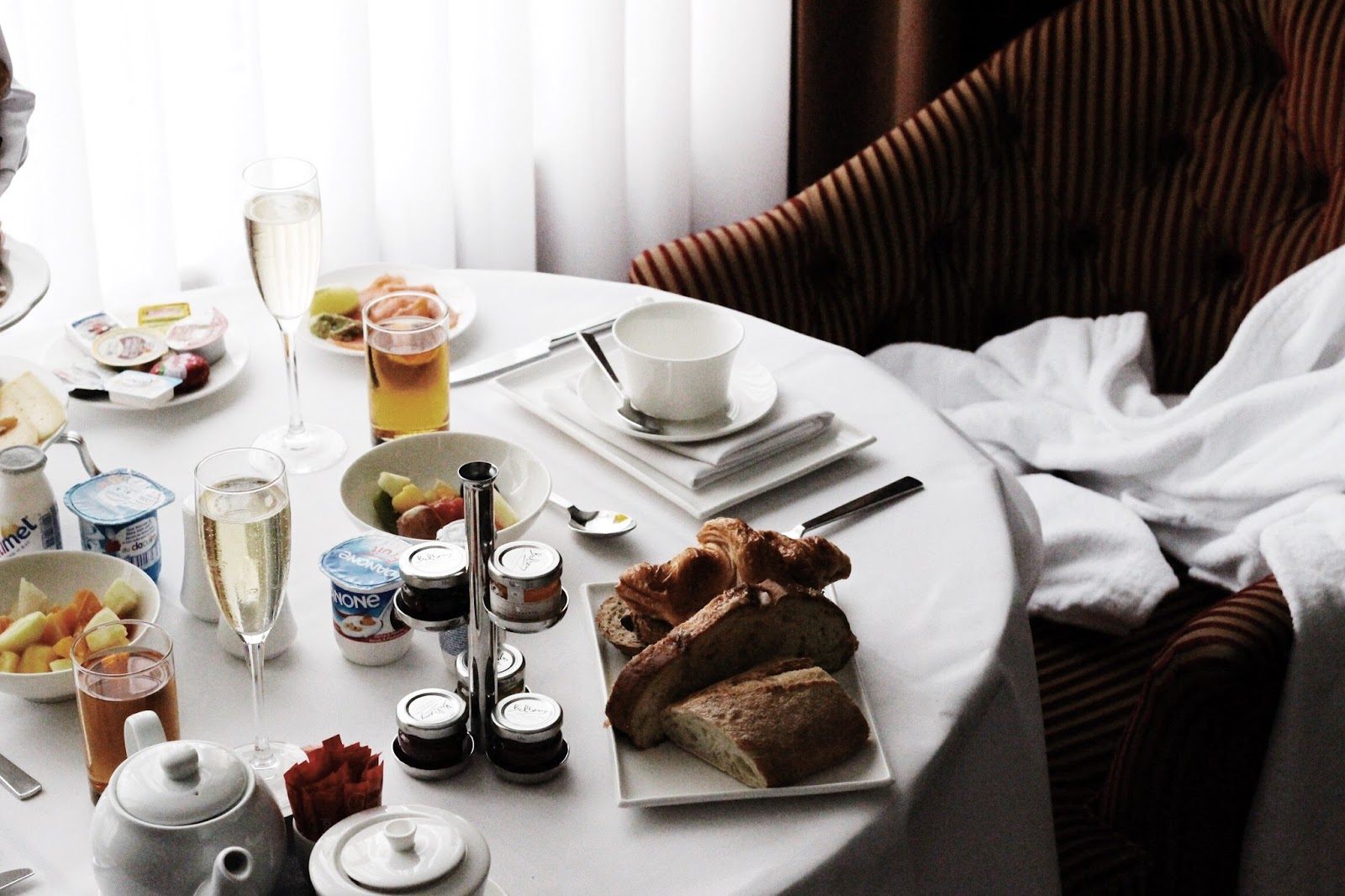 Hotel Dukes' Palace Breakfast in Room Review