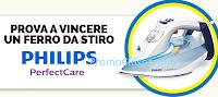 Logo Vinci il primo ferro da stiro Intelligente Philips