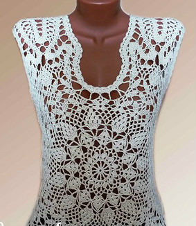 Classic blouse crochet