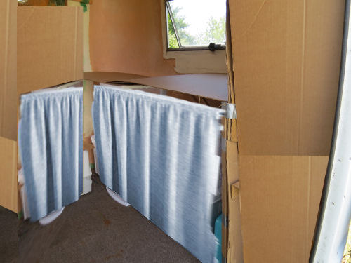 trailer interior mockup