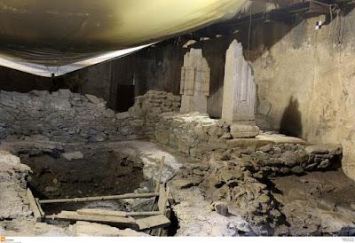Το μετρό κάτω από τα αρχαία στη Θεσσαλονίκη