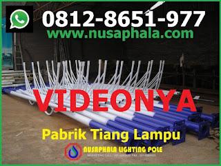 Pabrik tiang lampu pju