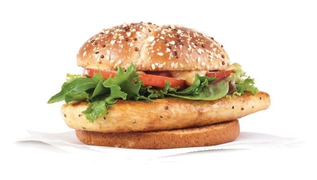 Wendy 39 s updates grilled chicken sandwich brand eating for Wendy s fish sandwich