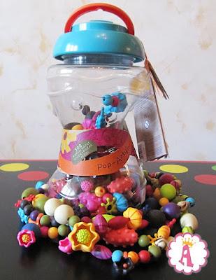 Набор для изготовления браслетов Pop Arty Battat 300 деталей в банке