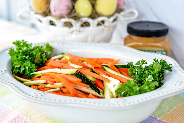 Pickled Carrots and Zucchini