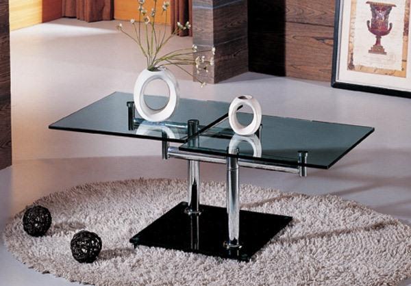 11 model Desain Meja Kaca Persegi yang Cantik dan Mewah