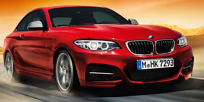 2017 BMW 2 Series Rendering UK