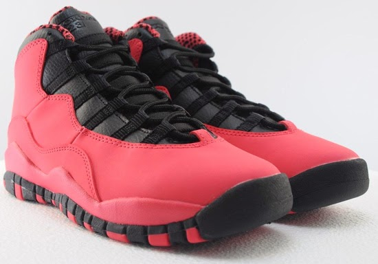 caee5b5b0e25 ajordanxi Your  1 Source For Sneaker Release Dates  Girl s Air Jordan 10  Retro GS Fusion Red Black-Laser Orange Available Early On eBay