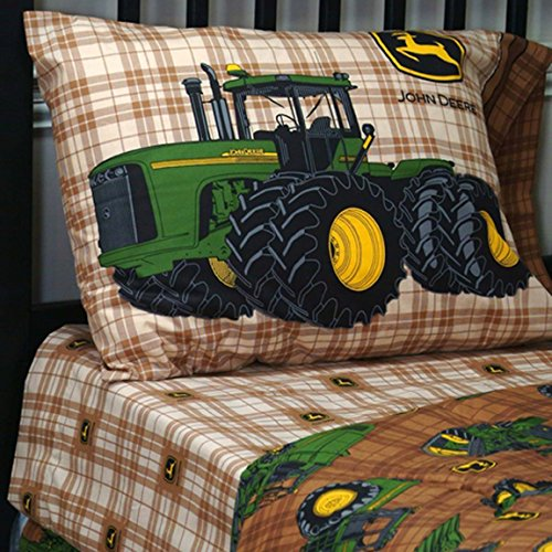 Relatively Tractor Theme Bedding for Kids From Baby's Crib to Toddler On Up LE58